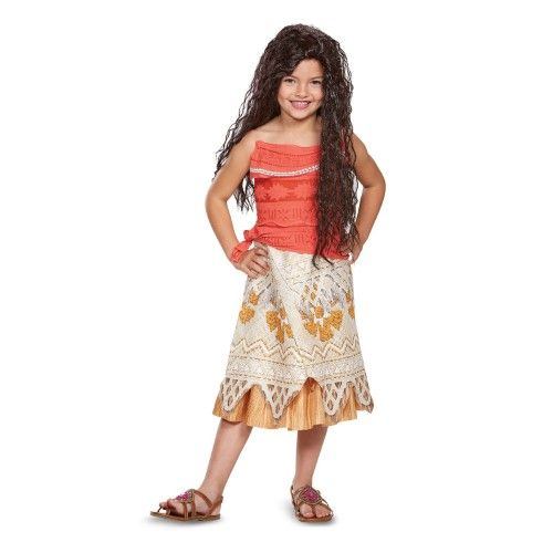 Disney Princess Moana Classic Child Costume #Halloween #kids #affiliate  sc 1 st  Pinterest & Disney Princess Moana Classic Child Costume | Pinterest | Princess ...