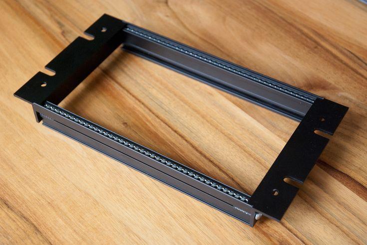 Eurorack DIY Frames: Clicks and Clocks Custom 10 inch rackmount frame