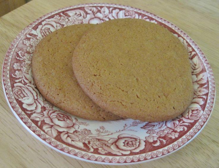 Molasses Cookies – A 1940s Recipe