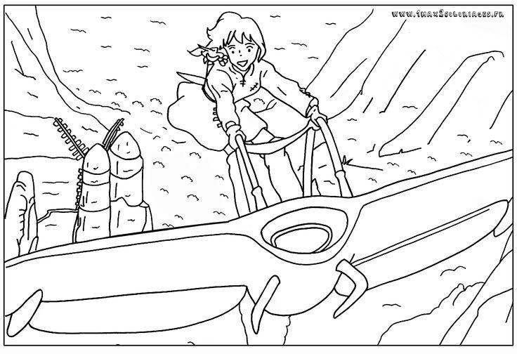 Les 10 meilleures images du tableau ponyo sur pinterest for Ponyo coloring pages