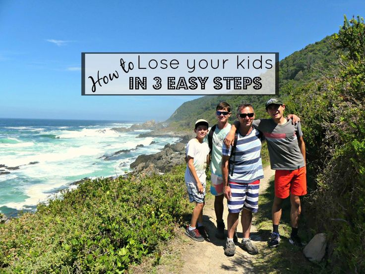How to Lose your Kids on South Africa's famous Otter Trail 😬