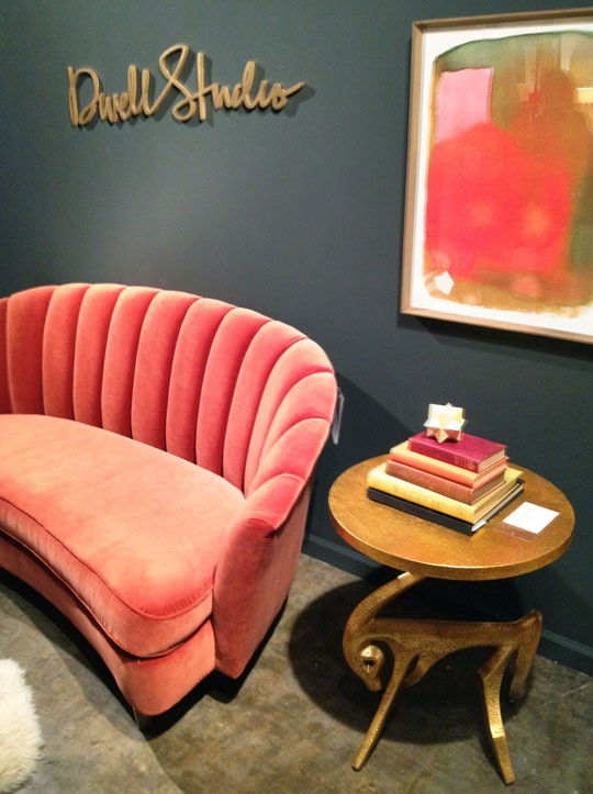 Final Thoughts On Market U2014 High Point Market   Fall 2012. Pink Velvet SofaCloset  ...
