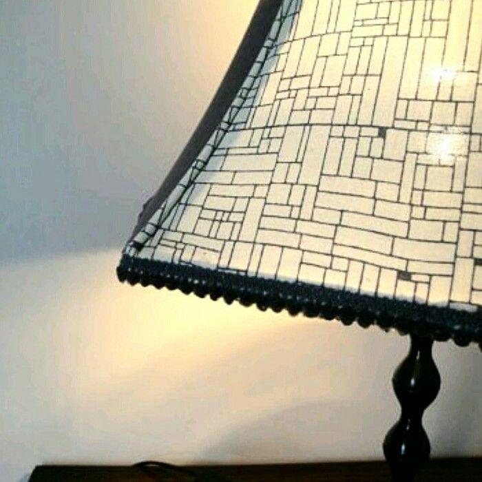 New grey and cream shade.  https://www.etsy.com/uk/listing/555498918/grey-and-cream-lampshade-handmade  #lampshade #handmadelampshades #handmade #geometric #lampshades #flowers #giftideas #print #studio #vibrant #womaninbiz #handmadegifts #lighting #upcycled #interiordesign #interiors #design #homefurnishings #recycle #wip #sunny #etsy #etsyseller #etsyuk #smallshop #maker #smallbusiness #homedecor #madeinwales #katiemade