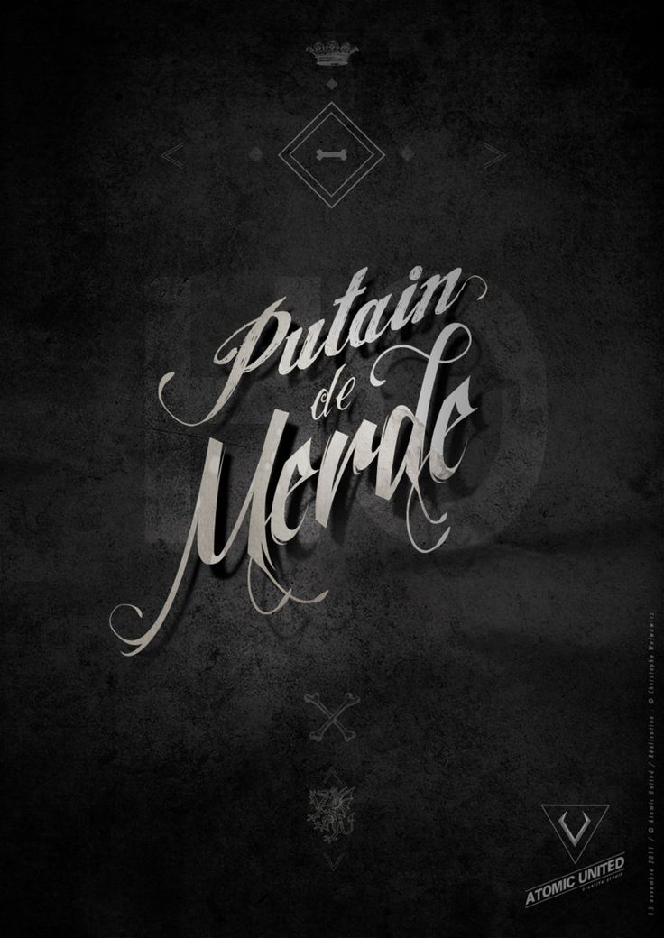 #putain de #merde