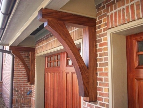 21 Best Knee Braces And Corbels Images On Pinterest Exterior Homes Woodworking And Rooftops