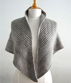 Inspired by the tops of the fir trees where I summer in Maine, POINTED FIRS is a textured, triangle neckerchief, shawlette or shawl. Beginning with an addictive chevron pattern, which is mirrored on each side of the center st, and framed in garter st, POINTED FIRS is equally elegant neck warmer, draped scarf or cozy wrap for anyone on your holiday gift list (or keep one for yourself)!