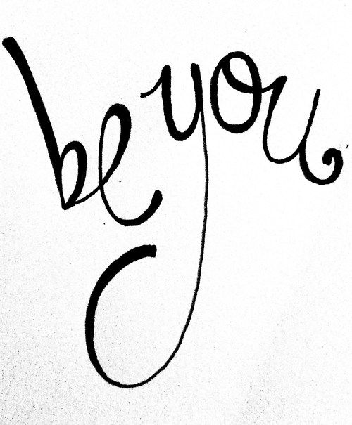 be you..