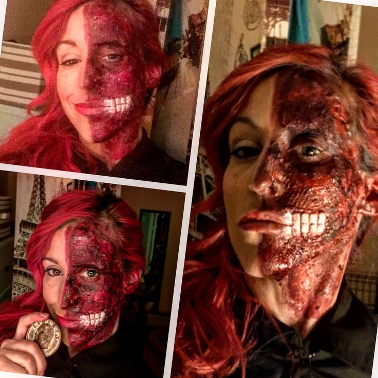 30 best two face images on Pinterest | Two faces, Halloween makeup ...