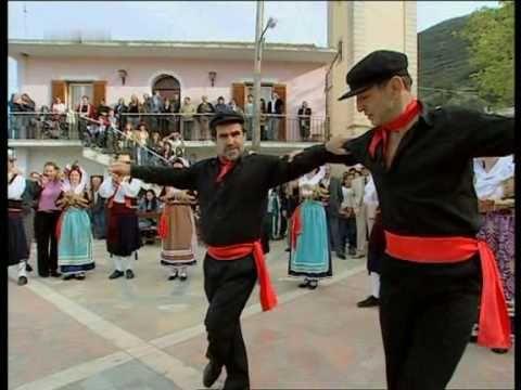 Volkstanz auf der griechischen Insel Korfu 2005 (Sirtaki)