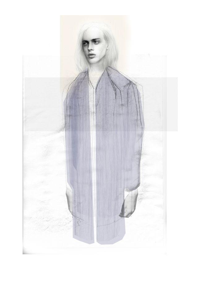 Fashion Sketchbook - fashion design illustration; concept sketch; fashion portfolio // Niall David James