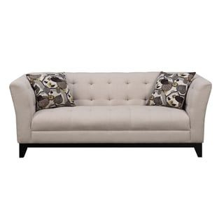 Emerald Marion Cream Transitional Sofa | Overstock.com Shopping - The Best Deals on Sofas & Loveseats