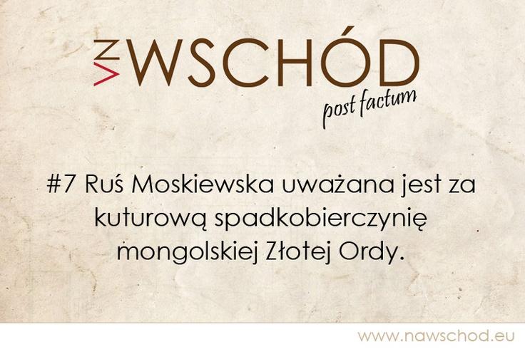 Ruś Moskiewska a Złota Orda mongolska