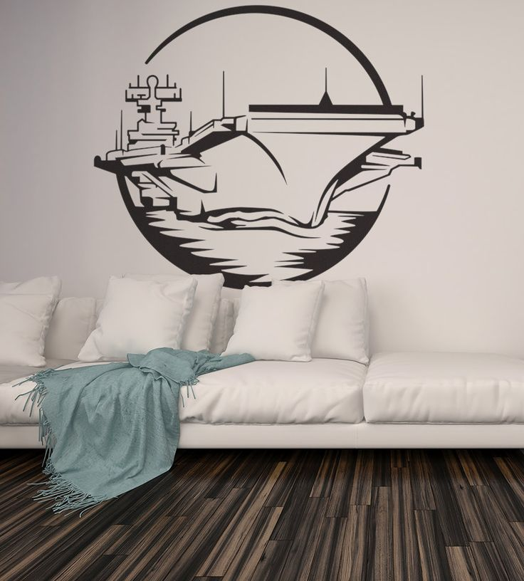 Aircraft Carrier Military Navy Naval Ship Air Force Wall