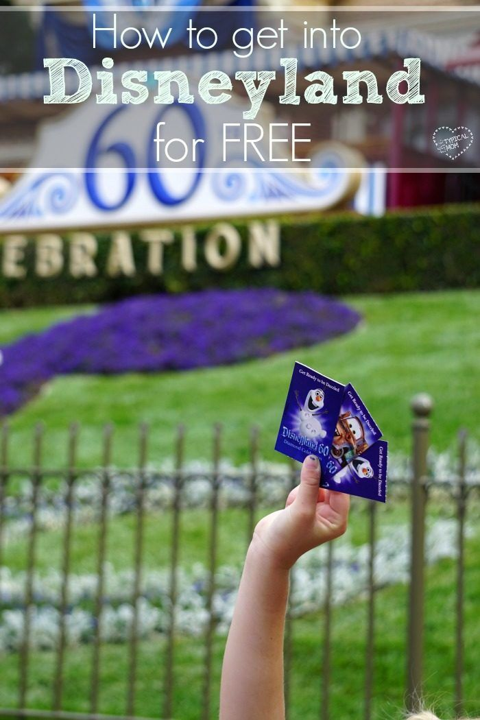 THIS is how to get into Disneyland for FREE, we did it!! Let me show you how we scored free tickets, works for Disney World too.