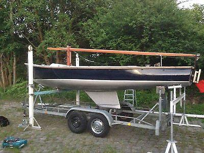 Segeljolle Flying Fox offenes Kielboot Gaffelsegel | Yachten & Kielboote | Segelboote - Zeppy.io