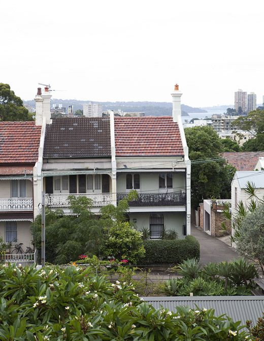 Classic Sydney terrace houses