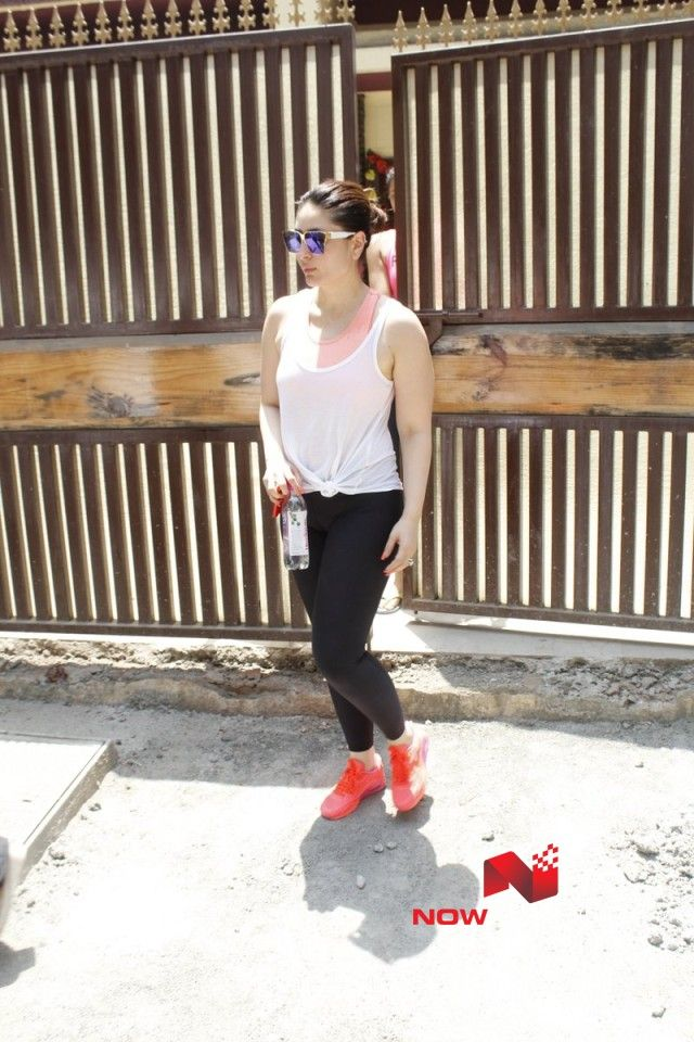 Snapped post Yoga session in Bandra