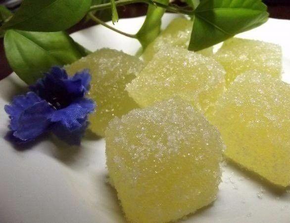Citronové bonbóny