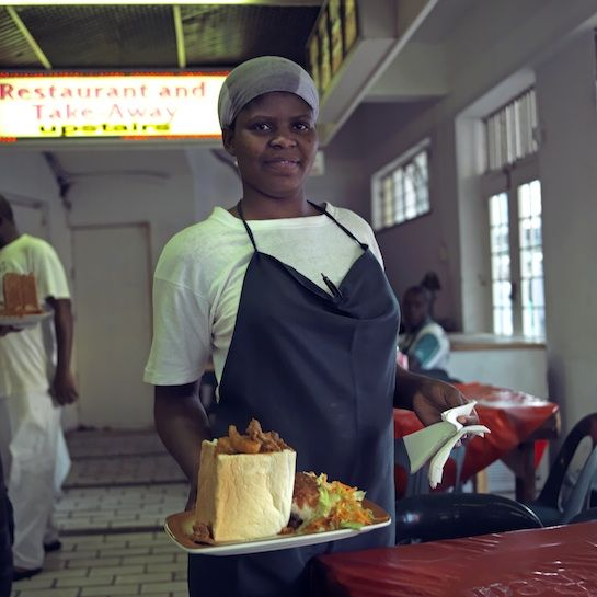 South African Street food: Bunny Chow