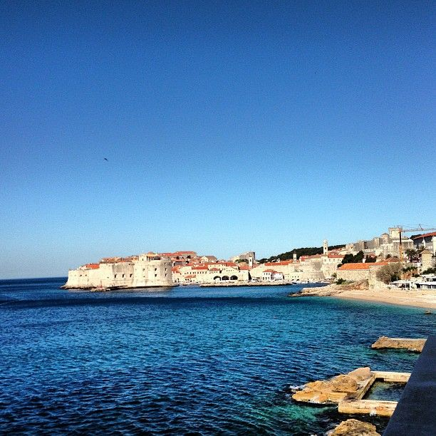 View from Excelsior Hotel Dubrovnik -  #8 Places Visitors Go in Dubrovnik, Croatia #JetpacCityGuides #Dubrovnik