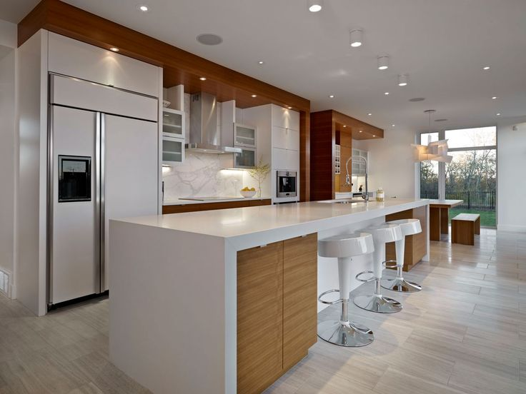 kitchen design edmonton. Beautiful Stylish Interior in Home  Contemporary Double J House Kitchen Design Modern Bar Stools 23 best Contrasting Island Countertop images on Pinterest