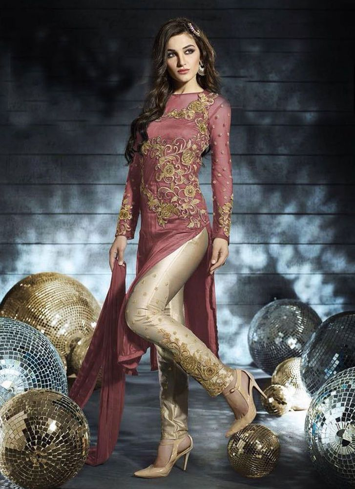 Anarkali Bollywood Partydress Designer Pakistani Ethnic Suit Indian Salwar 2122…