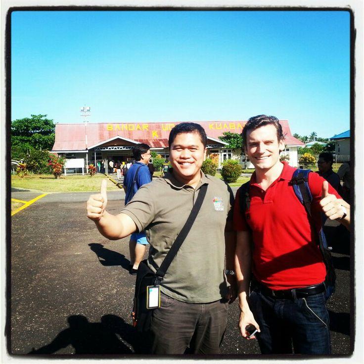 Kubang Int'l Airport at Kao... ;p