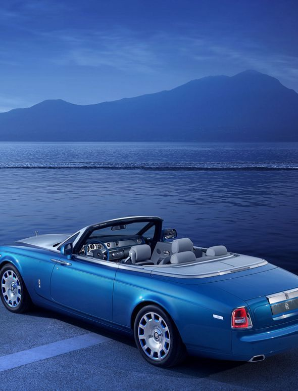 Want something to drool over? This Rolls-Royce Phantom Drophead Coup is one of the top luxury cars of 2015. Click to be amazed.