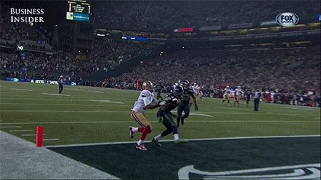 My brother was made when he saw this gif because he is a 49ers fan and nice TD