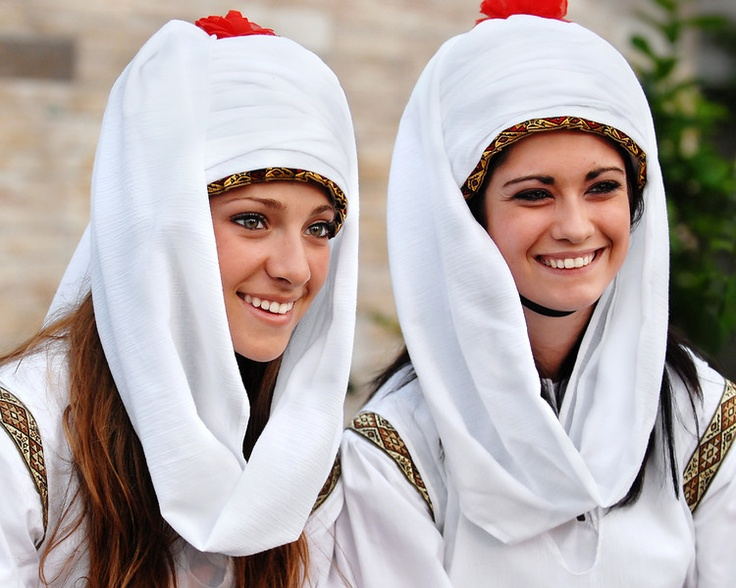 Dancers in typical Chios costume at the 2008 St. Katherine Greek Orthodox Church Festival, Melbourne, FL, USA