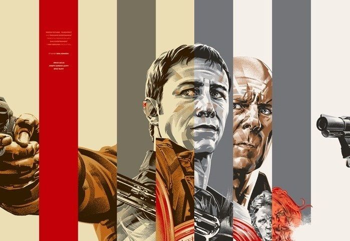 """""""Looper"""" Mondo Poster    Love this one, so unique and eye popping."""