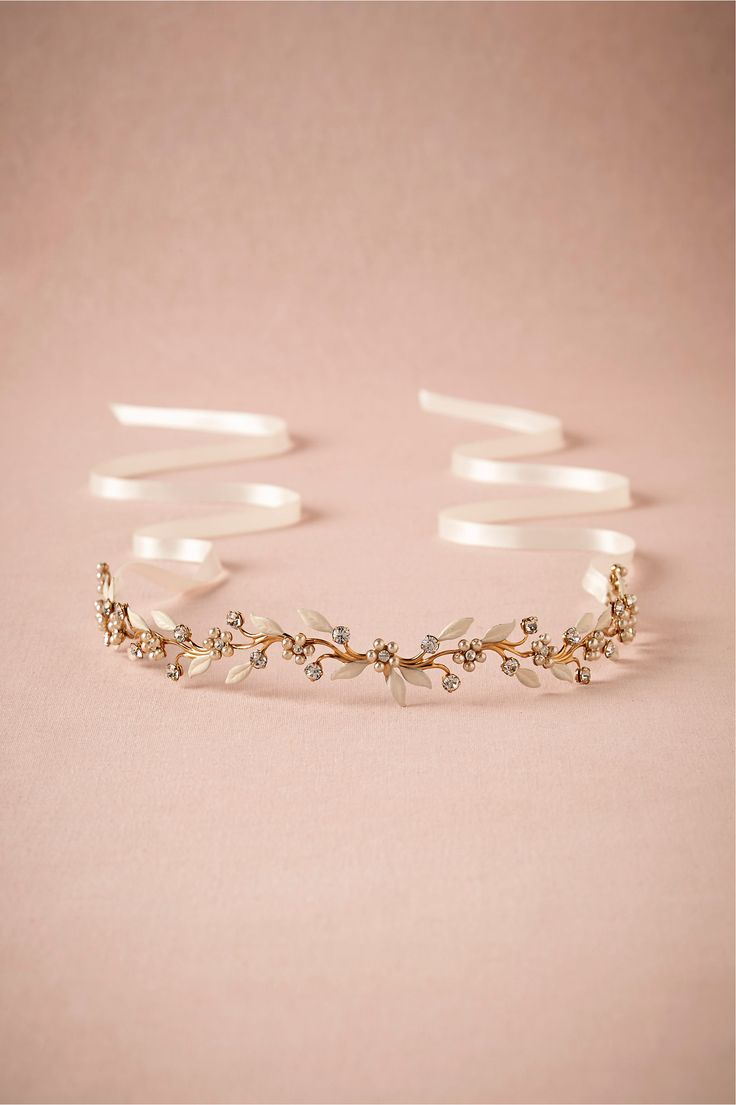 Bluebell Halo in Shoes & Accessories Headpieces at BHLDN