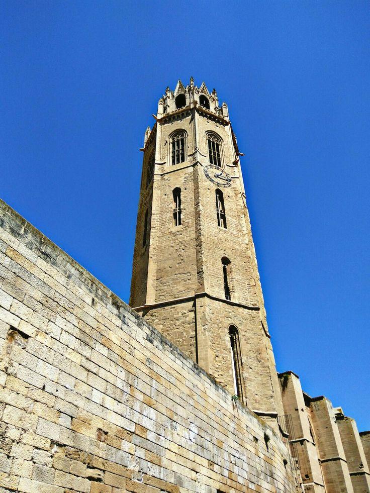 Campanario de la Seu Vella, Catedral de la Seu Vella, Lérida