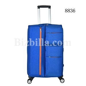 Soft Polyester Trolley Case Hand Carry Trolley Luggages By Baoding COQBV Bag Manufacturing Co.ltd From China