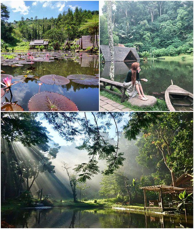Suasana Kampung Tapi Rasa Hotel Berbintang 22 Tempat Makan Sunda Di Bandung Tema Pedesaan Pedesaan Pemandangan Tempat
