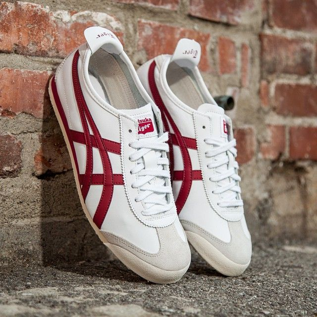 Onitsuka Tiger Mexico 66: white/burgundy