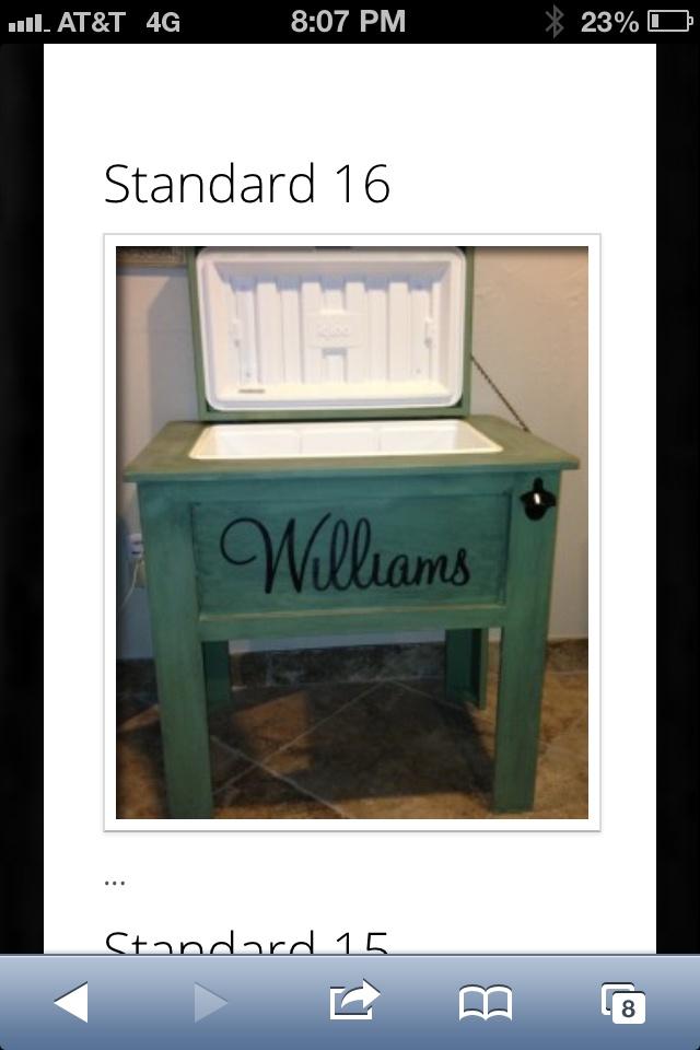Wood Patio Cooler Plans: 1000+ Images About Deck Cooler On Pinterest