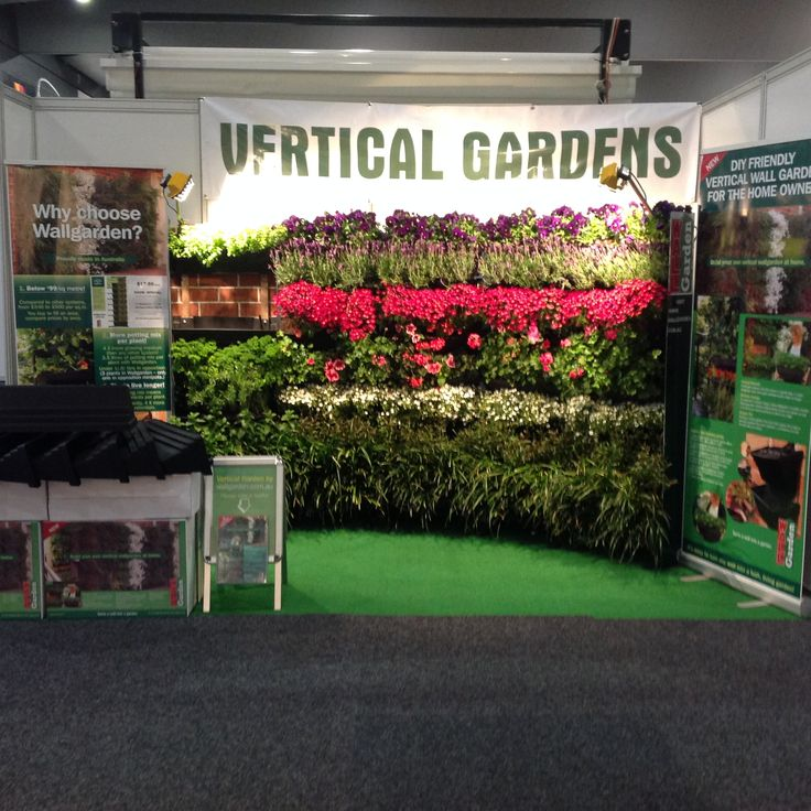 As per previous years, our exhibition in Grand Outdoors was a show stopper, we estimate 20,000 potential customers stopped and visited our vertical garden exhibition.
