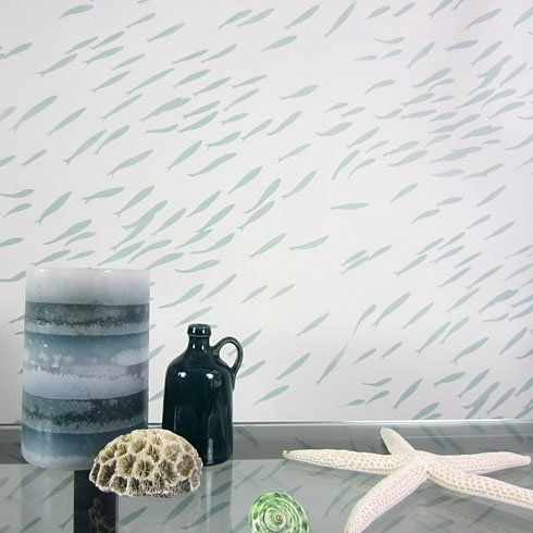 58 best Wall stencil=cheaper than wallpaper images on Pinterest | Wall stenciling, Moroccan wall ...
