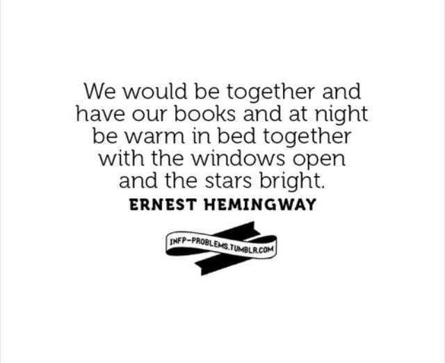 INFP   Relationships, Ernest Hemingway
