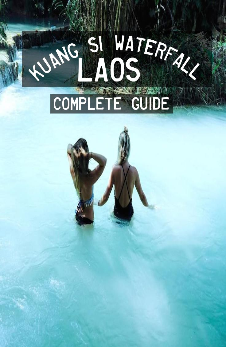 Kuang Si Waterfall, Laos. Complete Guide