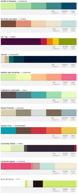 colour-lovers-palettes-combinazioni-colori
