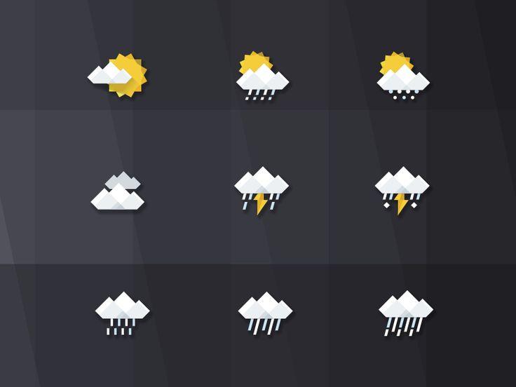 gray weather icon