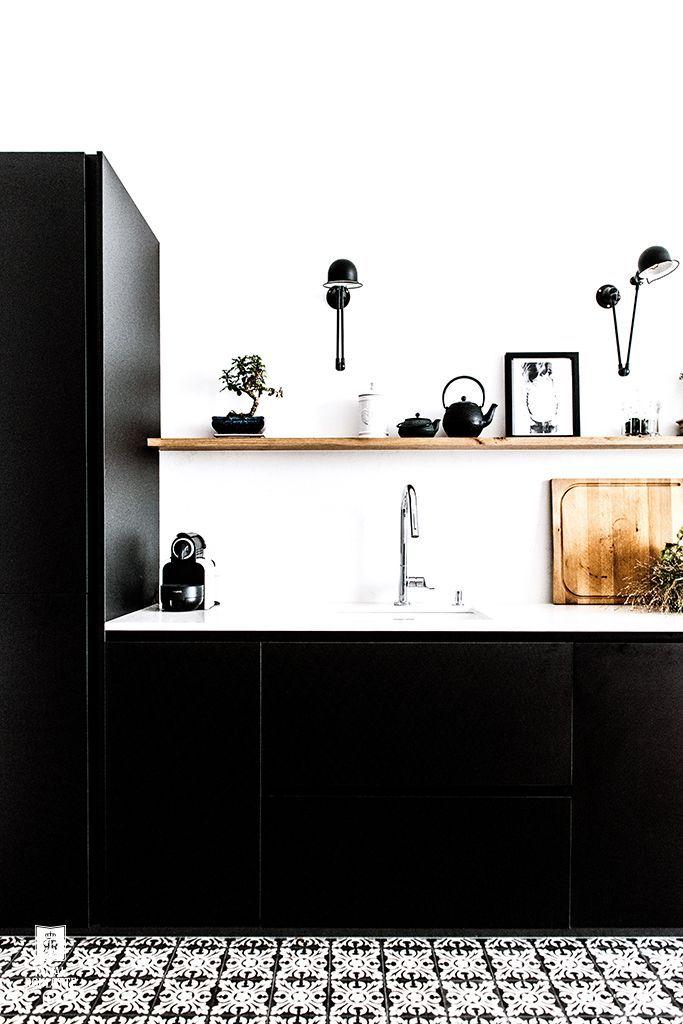 Gallery Of Royal Roulotte Renovation Decoration Paris Xvi M Inspiration  Blackblack With Kchen Lack