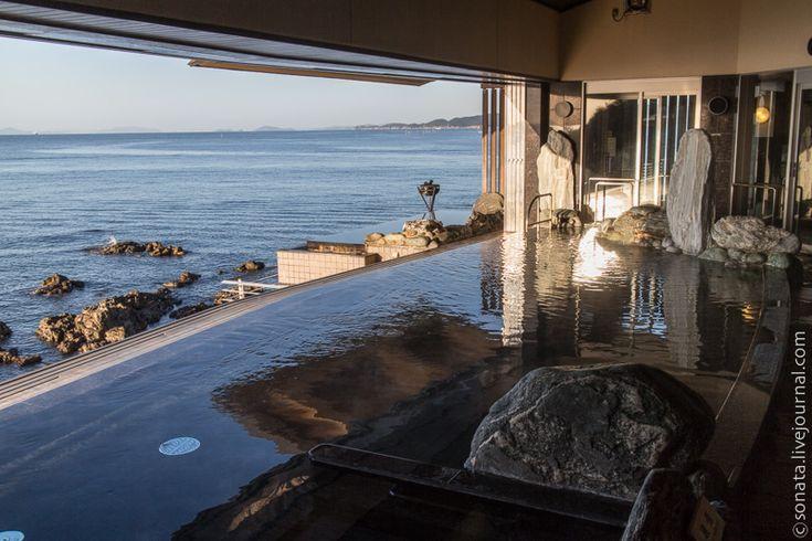 Онсэны: горячие источники с видом на море