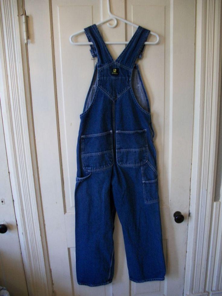 Mens Real Work Wear Bibs Overalls 32 x 29 #RealWorkWear #Overalls