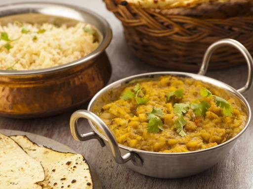 Dal de lentilles corail #vegetarien #indien