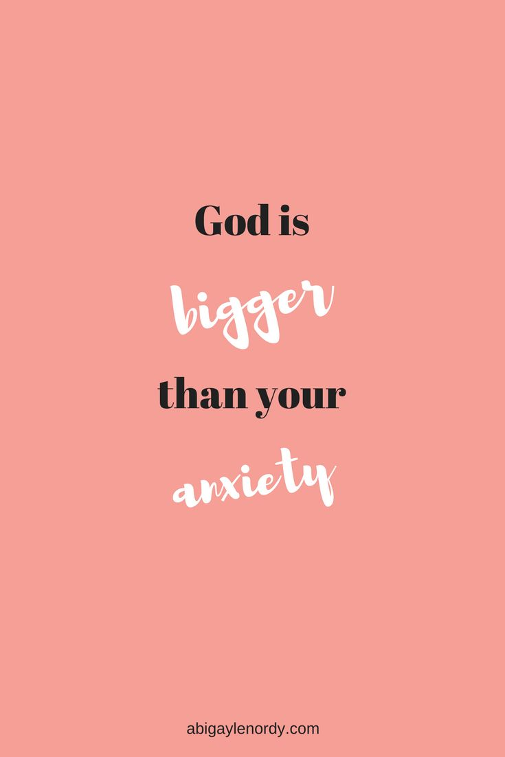 God is bigger than your anxiety. Anxiety is affects so many people. Click here to read my anxiety story and how God is bigger than your anxiety. #anxiety #mentalillness #love