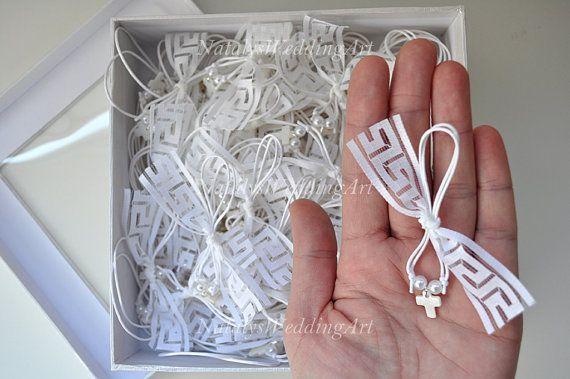 Greek Wedding Shop - Greek Key Martyrika Witness Pins. Witness Pins for your godchild's baptism ceremony (http://www.greekweddingshop.com/greek-key-martyrika-witness-pins/)
