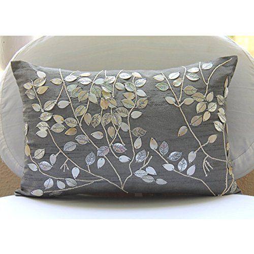 Silver Lumbar Pillow Cover, Mother Of Pearls Leaf Tropica... https://www.amazon.com/dp/B00VDDN7H6/ref=cm_sw_r_pi_dp_x_6AHcybPCHPG3X